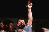 Rio de Janeiro, Brazil; Luis Ignacio da Silva - 'Lula' - at a political rally.