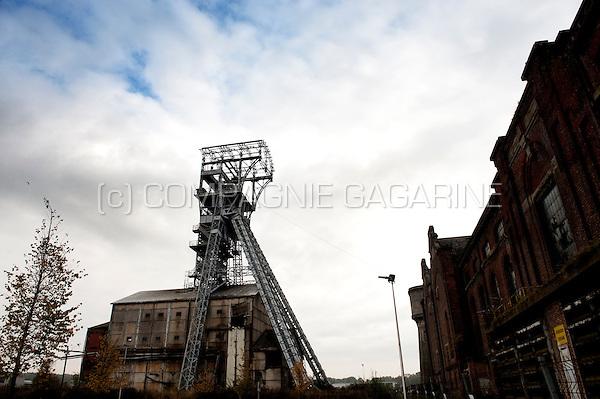 the old coal mine in Heusden-Zolder (Belgium, 23/10/2009)