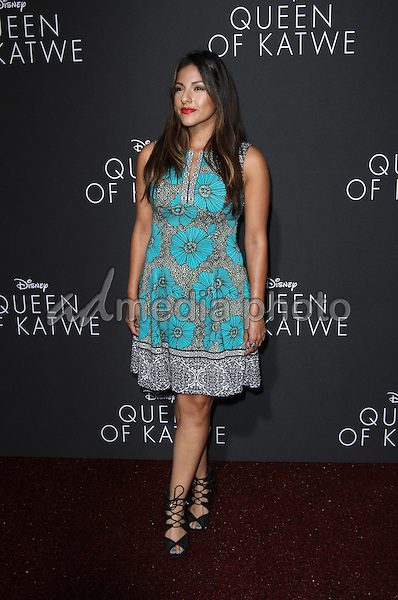 """20 September 2016 - Hollywood, California - Tracy Perez. """"Queen Of Katwe"""" Los Angeles Premiere held at the El Capitan Theater in Hollywood. Photo Credit: AdMedia"""
