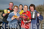 TEA TIME: Enjoying a range of tea, coffee and other treats at the Ardfert Community Centre on Friday in aid of Daffodil Day from were: Josephine O'Riordan, Julia O'Halloran, Pat Murphy, Lorraine O'Brien and Philomena Stack.   Copyright Kerry's Eye 2008