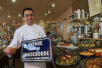 Europe/France/Aquitaine/64/Pyrénées-Atlantiques/Pau: Yves Camdeborde, charcutier 2 rue Gachet.  [Non destiné à un usage publicitaire - Not intended for an advertising use]