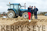 At the Causeway Ploughing Match at O'Connor farm, Sally Road, Ballyduff on Sunday were Dave Mulcahy, Colm Dineen and James Keoughan