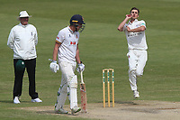 Ed Barnard in bowling action for Worcestershire during Worcestershire CCC vs Essex CCC, Specsavers County Championship Division 1 Cricket at New Road on 13th May 2018