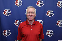 INDIANAPOLIS, IN - January 18, 2013: U.S. women's national team head coach Tom Sermanni (SCO). The National Women's Soccer League held its college draft at the Indiana Convention Center in Indianapolis, Indiana during the NSCAA Annual Convention.