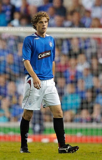Antoine Ponroy, Rangers.stock season 2006-2007.pic willie vass
