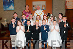 Pupils from  Ballyduff Central NS who received their first communion in St. Peter & st Paul's Church, Ballyduff on Saturday last