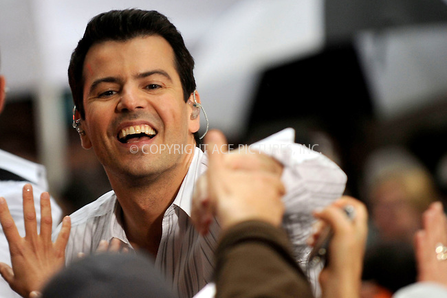 WWW.ACEPIXS.COM . . . . .....May 16, 2008. New York City,....Singer Jordan Knight of the New Kids on the Block performs on the 'Today show in Rockefeller Plaza...  ....Please byline: Kristin Callahan - ACEPIXS.COM..... *** ***..Ace Pictures, Inc:  ..Philip Vaughan (646) 769 0430..e-mail: info@acepixs.com..web: http://www.acepixs.com