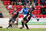 St Johnstone v St Mirren....06.10.12      SPL.Gregory Tade has a shot at goal.Picture by Graeme Hart..Copyright Perthshire Picture Agency.Tel: 01738 623350  Mobile: 07990 594431
