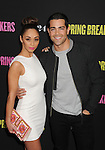 HOLLYWOOD, CA - MARCH 14: Cara Santana and Jesse Metcalfe attend the 'Spring Breakers' Los Angeles Premiere at ArcLight Hollywood on March 14, 2013 in Hollywood, California.