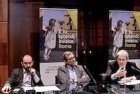 Roma, 24 Maggio 2016.<br /> Camera di commercio di Roma,<br /> Sblocca Roma, presentato dal commissario del PD Matteo Orfini, dal candidato Pd Roberto Giachetti, dal sottosegretario Claudio De Vincenti .