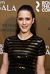 Rachel Brosnahan attends the Roundabout Theatre Company's 2019 Gala honoring John Lithgow at the Ziegfeld Ballroom on February 25, 2019 in New York City.