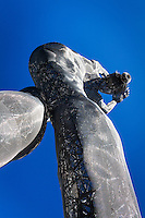 The rising line of the leg, the curve of the back, the backward tilt of her head - the Truth is Beautry statue at the San Leandro Tech Campus.