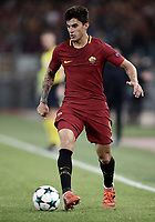 Football Soccer: UEFA Champions League AS Roma vs Chelsea Stadio Olimpico Rome, Italy, October 31, 2017. <br /> Roma's Diego Perotti during the Uefa Champions League football soccer match between AS Roma and Chelsea at Rome's Olympic stadium, October 31, 2017.<br /> UPDATE IMAGES PRESS/Isabella Bonotto