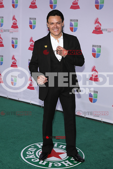 LAS VEGAS, NV - NOVEMBER 15 :  Pedro Fernandez pictured at the 2012 Latin Grammys at Mandalay Bay Resort on November 15, 2012 in Las Vegas, Nevada.  Credit: Kabik/Starlitepics/MediaPunch Inc. /NortePhoto