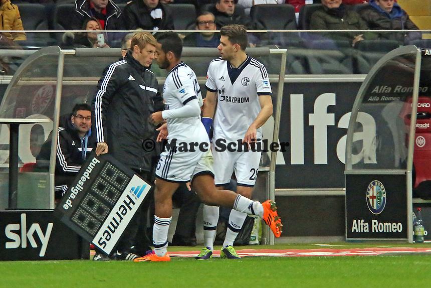 Dennis Aogo geht, Adam Szalai (Schalke) kommt - Eintracht Frankfurt vs. FC Schalke 04, Commerzbank Arena