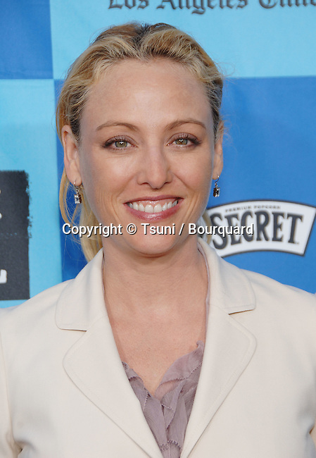 Virginia Madsen arriving at the THE DEVIL WEARS PRADA at the Westwood Theatre In Los Angeles. June 22, 2006.