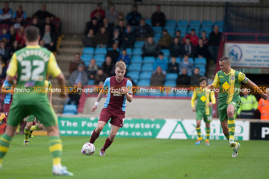 Paddy Madden of Scunthorpe U<br />  - Scunthorpe United vs Notts County - Sky Bet League One Football at Glanford Park, Scunthorpe, Lincolnshire - 25/10/14 - MANDATORY CREDIT: Mark Hodsman/TGSPHOTO - Self billing applies where appropriate - contact@tgsphoto.co.uk - NO UNPAID USE