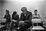 Labour Exchange south London. England 1976<br /> <br /> Job Centre, Labour Exchange,unemployment, out of work, on the, dole,