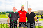 L-r Tommy Guerin, Paddy White and John Ross  at the  Parnells Invitational Tournament in John Mitchells GAA on Saturday