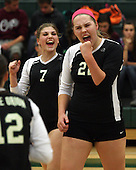North Farmington at Lake Orion, Varsity Volleyball, 10/11/12