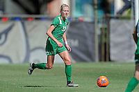 8 November 2015:  Marshall Forward Erin Simmons (32) advances the ball in the first half as the Marshall University Thundering Herd faced the University of North Texas Mean Green in the Conference USA championship game at University Park Stadium in Miami, Florida.
