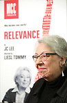 "Jayne Houdyshell attends the Meet & Greet for the cast of ""Relevance"" at the Dodgers Atelier on January 9, 2018 in New York City."