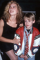 Brooke Shields McCauley Culkin 1991<br /> Photo By John Barrett/PHOTOlink.net