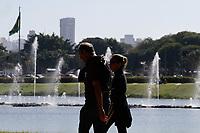 SÃO PAULO, SP, 09.07.2019: MOVIMENTAÇÃO-PARQUE-IBIRAPUERA-SP - Movimentação no parque Ibirapuera, na zona sul de São Paulo, na tarde desta terça-feira, 09, feriado da Revolução de 1932. (Foto: Fábio Vieira/FotoRua)