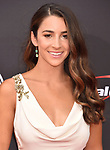 LOS ANGELES, CA - JULY 18: Aly Raisman attends the 2018 ESPYS at Microsoft Theater at L.A. Live on July 18, 2018 in Los Angeles, California.