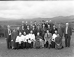 Bishop Moynihan with farmers in the 1950's. Note the lovely armchair for the bishop.<br /> Picture: macmonagle archive<br /> e: info@macmonagle.com