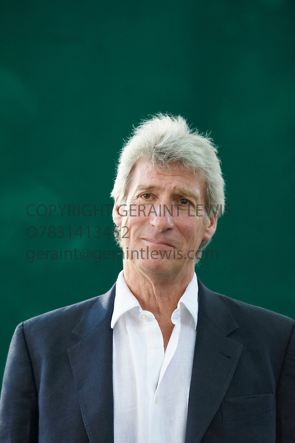 Jeremy Paxman,BBC Newsnight Presenter at The Edinburgh International Book Festival 2009.CREDIT Geraint Lewis