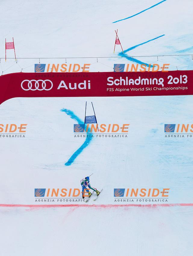 Manfred Moelgg Medaglia di bronzo.15.02.2013, Planai, Schladming, AUT, FIS .Slalom Gigante Uomini .Foto Insidefoto / EXPA/ Johann Groder