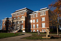 Lee Hall with afternoon light<br />  (photo by Megan Bean / &copy; Mississippi State University)