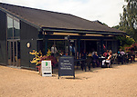 Tearooms The Beth Chatto garden and nursery, Elmstead Market, Essex, England