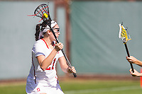 Stanford, CA - February 12, 2017: Stanford Women's Lacrosse falls to Denver University 7-10 at Laird Q. Cagan Stadium at Maloney Field.