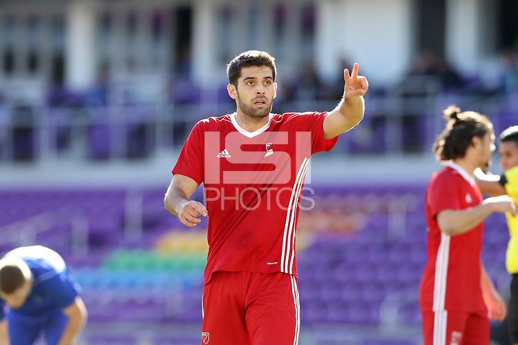 Orlando, Florida - Monday January 15, 2018: Albert Ruiz. Match Day 2 of the 2018 adidas MLS Player Combine was held Orlando City Stadium.