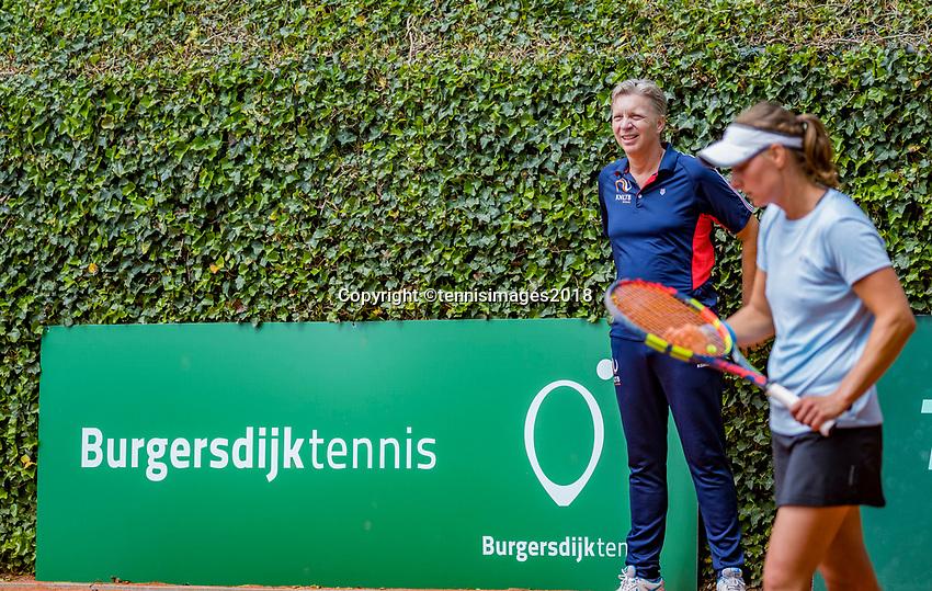 The Hague, Netherlands, 10 June, 2018, Tennis, Play-Offs Competition, Burgersdijk tennis<br /> Photo: Henk Koster/tennisimages.com