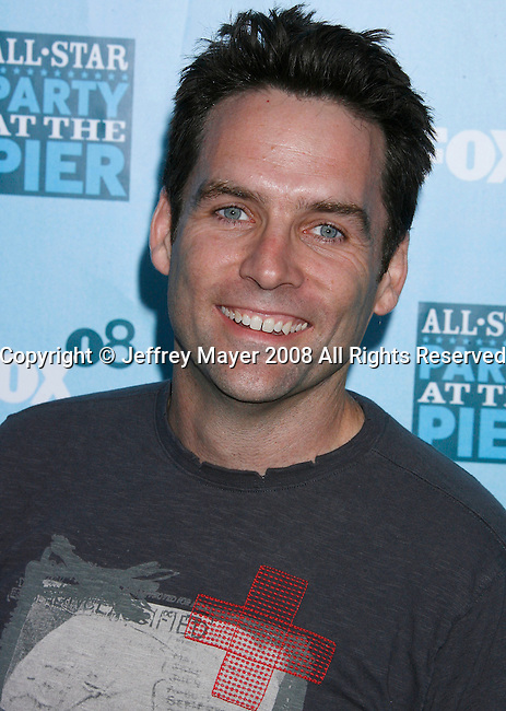 Actor David Rees Snell arrives at the Fox All-Star Party At The Pier at the Santa Monica Pier on July 14, 2008 in Santa Monica, California.
