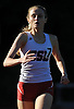 Gillian Drexler of Cold Spring Harbor competes in the girls 4x800 meter relays during Day 1 of the Nassau County track & field individual championships and state qualifiers at North Shore High School in Glen Head on Wednesday, May 30, 2018.