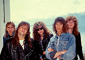 May 15, 1987: TESLA - Photosession in Montreux Switzerland