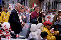 Montreal (Qc) CANADA - 1996 File Photo -Montreal (Qc) CANADA - July 1st 1998 File Photo - Canada Day parade organised by Dr Singh