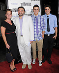 Elizabeth Perkins and family. at the Universal Pictures L.A. Premiere of Pitch Perfect held at The Arclight Theatre in Hollywood, California on September 24,2012                                                                               © 2012 Hollywood Press Agency