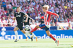 Atletico de Madrid's Antoine Griezmann during La Liga match between Atletico de Madrid and Sevilla FC at Wanda Metropolitano Stadium in Madrid, Spain September 23, 2017. (ALTERPHOTOS/Borja B.Hojas)