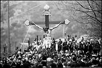 La Festa dei Giudei del Venerdì Santo. Il Cristo in processione.
