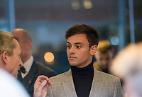 Picture by Allan McKenzie/SWpix.com - 04/11/17 - Swimming - British Swimming Awards 2017 - The Poiint, Lancashire County Cricket Ground, Manchester, England - Tom Daley.