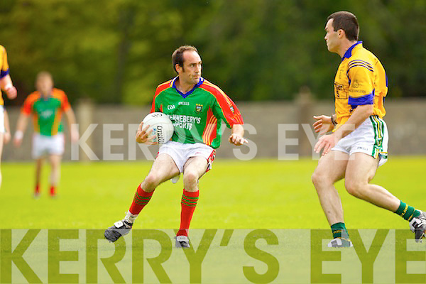 Bernard Murphy Mid Kerry v Brian McGuire Feale Rangers in Round 3 of Garveys Supervalu Kerry County Championship at Frank Sheehy Park, Listowel on Sunday.