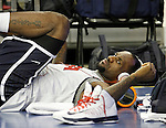 USA's LeBron James during training session.July 23,2012(ALTERPHOTOS/Acero)