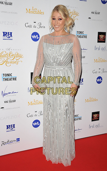 Amelia Lily attends the Whatsonstage.com Awards Concert 2016, Prince of Wales Theatre, Coventry Street, London, UK, on Sunday 21 February 2016.<br /> CAP/CAN<br /> &copy;CAN/Capital Pictures