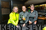 Deirdre Young (Tonavane), Michelle and Mary Byrne (Annagh, Tralee) relaxing after completing the Jimmy Duffy Memorial Cycle on Saturday.