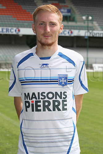 01.08.2013. Auxerre, France. Official Club photoshoot portait for season 2013-14.  (Auxerre) Nicolas Staerck